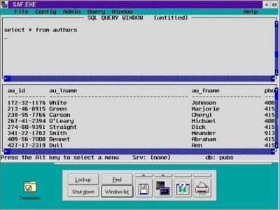 SAF Interface from SQL Server 1.1