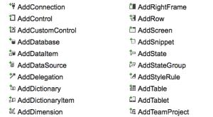 Visual Studio Image List